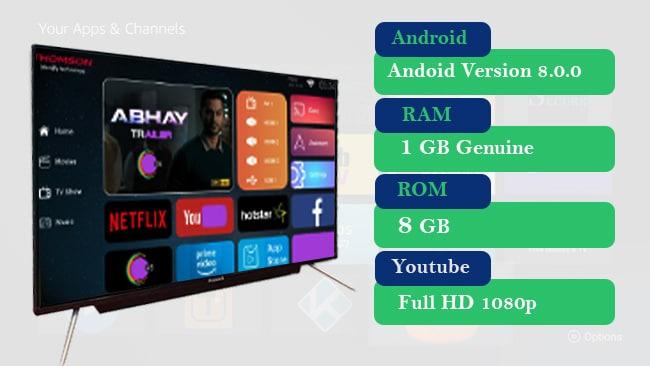43 smart TV  Pentanik 40 Inch Smart Android TV Soundbar ( 2020)