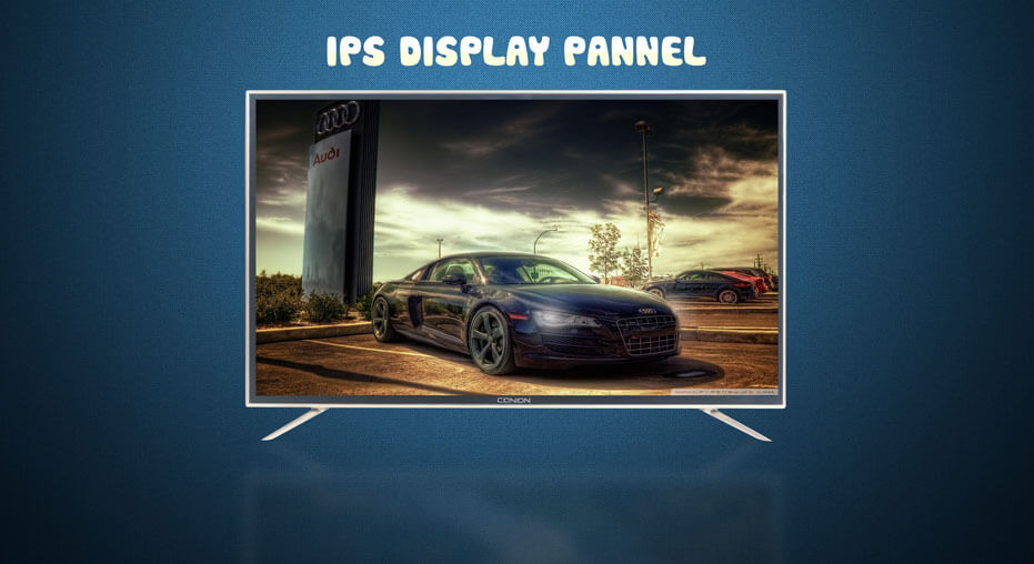 BIGGER AND BRIGHTER IPS DISPLAY Conion BEZ-32XB500G HD LED Television