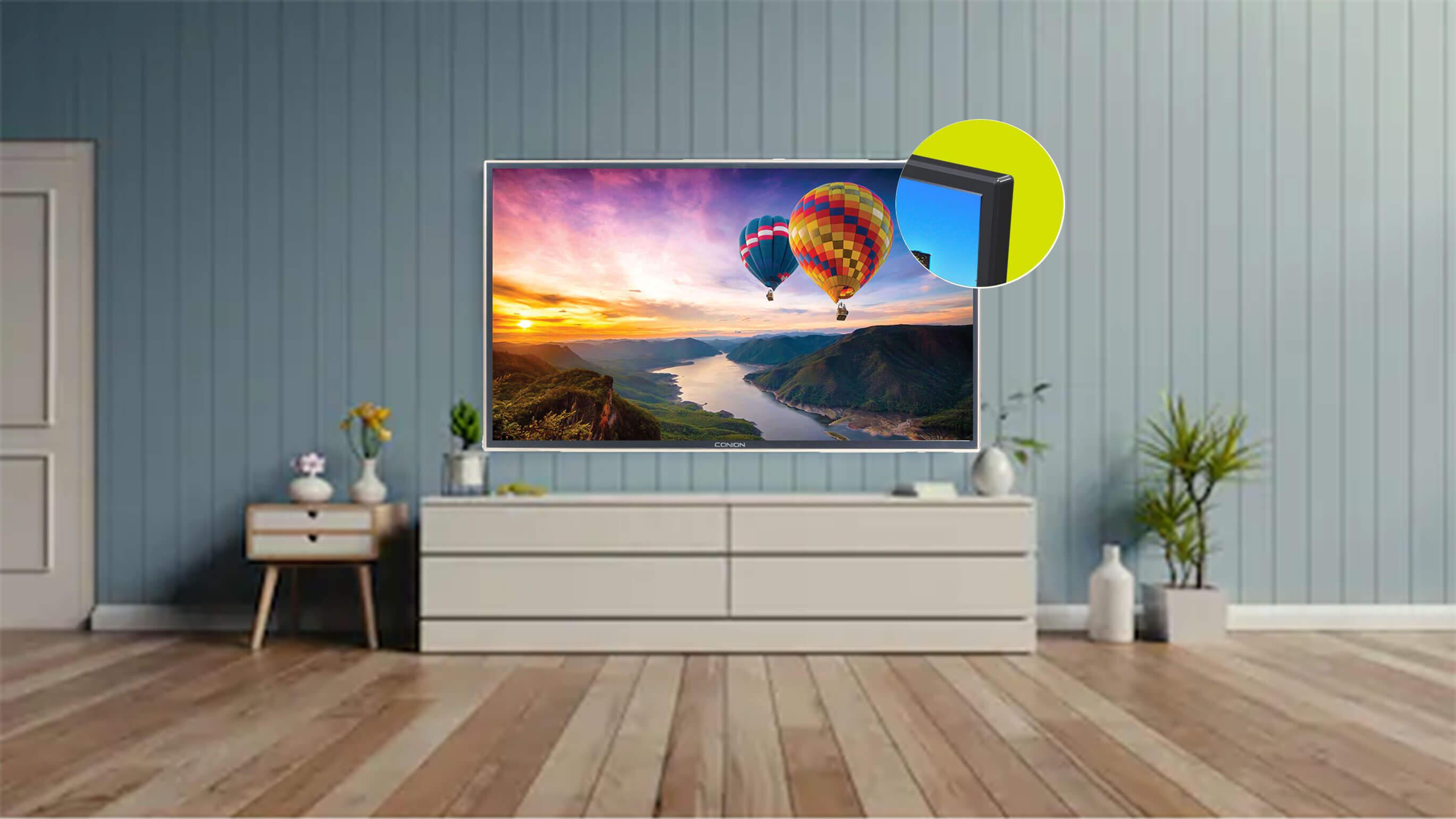 STYLISH NARROW BEZEL Conion BEZ-32XB500G HD LED Television