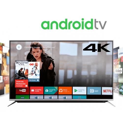 65 inch tv Pentanik 65 inch Smart Android 4K TV With Soundbar (2020)