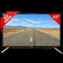 Pentanik 43 inch Smart Android TV with Soundbar